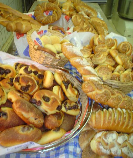 Alcune variet� di pane palermitano
