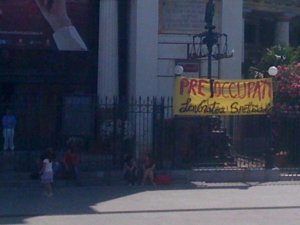 Teatro Valle Occupato contaggia Palermo - Teatro Politeama