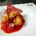 -Baccalà fritto e peperoni dorati, accompagnato con filetto di pomodoro - - - Fotografia inserita il giorno 14-08-2020 alle ore 06:43:59 da pasqualefranzese