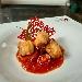 -Baccalà fritto e peperoni dorati, accompagnato con filetto di pomodoro - - - Fotografia inserita il giorno 14-08-2020 alle ore 06:44:12 da pasqualefranzese