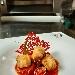 -Baccalà fritto e peperoni dorati, accompagnato con filetto di pomodoro - - - Fotografia inserita il giorno 14-08-2020 alle ore 06:44:23 da pasqualefranzese