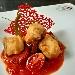 -Baccalà fritto e peperoni dorati, accompagnato con filetto di pomodoro - - - Fotografia inserita il giorno 14-08-2020 alle ore 06:44:35 da pasqualefranzese
