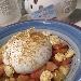 -Burrata alla bottarga con macedonia di pomodori e lupini di terra - - - Fotografia inserita il giorno 22-08-2019 alle ore 18:30:04 da pasqualefranzese
