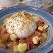 -Burrata alla bottarga con macedonia di pomodori e lupini di terra - - - Fotografia inserita il giorno 22-08-2019 alle ore 18:30:20 da pasqualefranzese