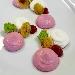 -Cheesecake salata bigusto con gelè di raparossa, porro grigliato e spugna di prezzemolo - - - Fotografia inserita il giorno 13-04-2021 alle ore 22:46:38 da pasqualefranzese
