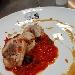-Cosciotto di pollo ripieno, servito con salsa demi-glace e salsa alla puttanesca - - - Fotografia inserita il giorno 28-05-2020 alle ore 05:38:39 da pasqualefranzese
