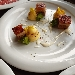 -Pancetta in cbt con purèe de pomme de terre dorata, salsa al pecorino DOP sardo accompagnata da spugne al prezzemolo - - - Fotografia inserita il giorno 06-03-2021 alle ore 06:20:58 da pasqualefranzese