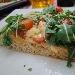 -Pizza in teglia mix 3 farine sarde, farcita con dolcesardo, pomodorini e rucola - - - Fotografia inserita il giorno 22-07-2019 alle ore 20:15:20 da pasqualefranzese