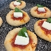 -Pizzette finger food
