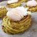 -Ricci di patate con uova in camicia al bacon  - - - Fotografia inserita il giorno 16-04-2019 alle ore 06:36:06 da pasqualefranzese