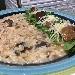 -Risotto con funghi misti e anguilla affumicata del sulcis - - - Fotografia inserita il giorno 12-12-2019 alle ore 05:03:24 da pasqualefranzese