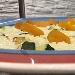 -Risotto con zucchine e vele di bottarga al lime - - - Fotografia inserita il giorno 21-09-2019 alle ore 17:48:48 da pasqualefranzese