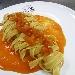 -Tagliolini o tagliatelle con colatura di pomodoro addensata - - - Fotografia inserita il giorno 17-11-2019 alle ore 17:34:33 da pasqualefranzese
