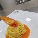 -Tagliolini o tagliatelle con colatura di pomodoro addensata - - - Fotografia inserita il giorno 17-11-2019 alle ore 17:35:21 da pasqualefranzese