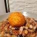 -Zuppetta di legumi con sfera di riso al pecorino sardo e zafferano - - - Fotografia inserita il giorno 25-05-2020 alle ore 18:31:05 da pasqualefranzese