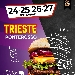 Dal 24 al 27 Settembre - Piazza Ponterosso - Trieste - XII Tappa della IV Edizione del Festival Internazionale dello Street Food