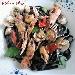 Fettuccelle al nero di seppia con scampi, vongole e pomodorino Flagella