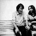 Franz Di Cioccio e Fabrizio De André - Fotografia di Guido Harari - - - Fotografia inserita il giorno 23-04-2019 alle ore 22:21:54 da musica