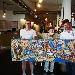 Giovanni Spiniello in mostra da Daniele Gourmet - - - Fotografia inserita il giorno 14-07-2020 alle ore 21:41:16 da luigi