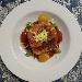 Girellona di crespelle salate al peperone crusco lucano ripiene di salsiccia, stracciatella e caciocavallo podolico allo zafferano di Ripacandida - - - Fotografia inserita il giorno 27-02-2021 alle ore 12:08:09 da silvfelicolucci