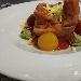 Girellona di crespelle salate al peperone crusco lucano ripiene di salsiccia, stracciatella e caciocavallo podolico allo zafferano di Ripacandida - - - Fotografia inserita il giorno 27-02-2021 alle ore 12:08:29 da silvfelicolucci