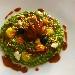 Risotto con scarola, moscardini alla Luciana, bufala e briciole di tarallo - - - Fotografia inserita il giorno 27-11-2020 alle ore 17:50:48 da luigi