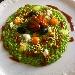Risotto con scarola, moscardini alla Luciana, bufala e briciole di tarallo - - - Fotografia inserita il giorno 27-11-2020 alle ore 17:51:04 da luigi