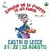 Dal 21 al 23 Agosto - Castri di Lecce - Sagra te li piatti te na fiata - 2ª Edizione