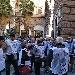 """Venerdì 7 giugno Flash Mob dei Gilet Bianchi contro la sospensione delle prestazioni sanitarie, la decurtazione degli importi pensionistici e il """"caro trasporti"""" per gli ultra - settantenni a Napoli"""