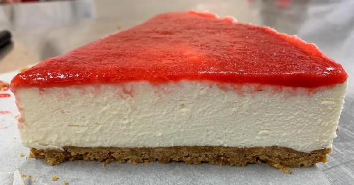 -Cheesecake alle fragole