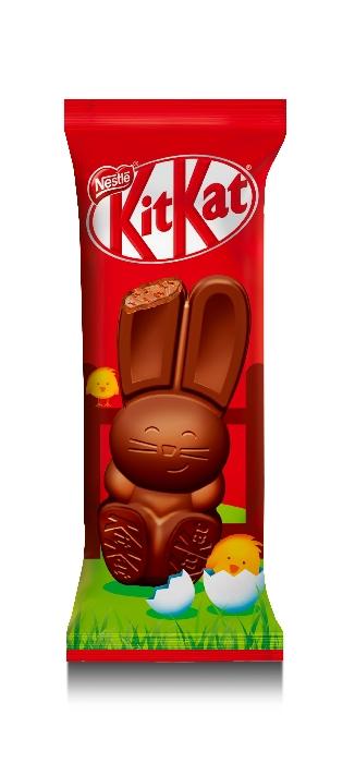 Kit-Kat Bunny: a Pasqua il wafer si trasforma in coniglietto