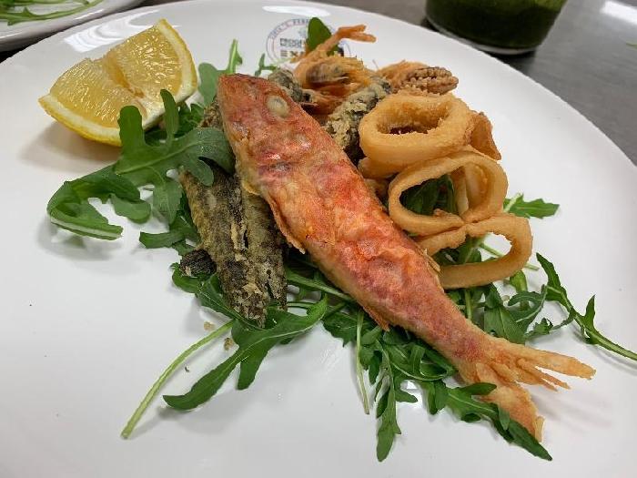 -Fritto misto di pesce alla sarda