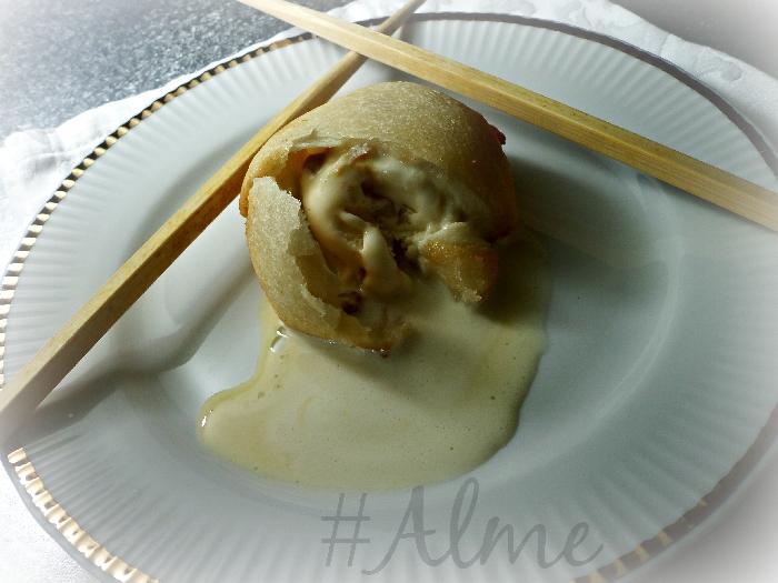 Ricetta inserita su spaghettitaliani.com da Almerindo Santucci: Gelato fritto alla Alme