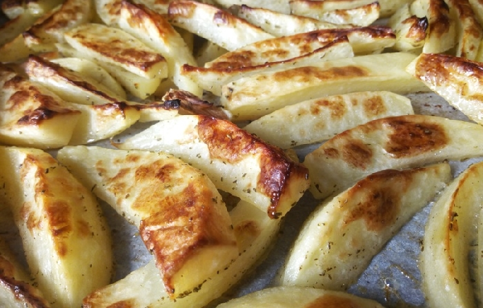 -Patate mascotte al forno