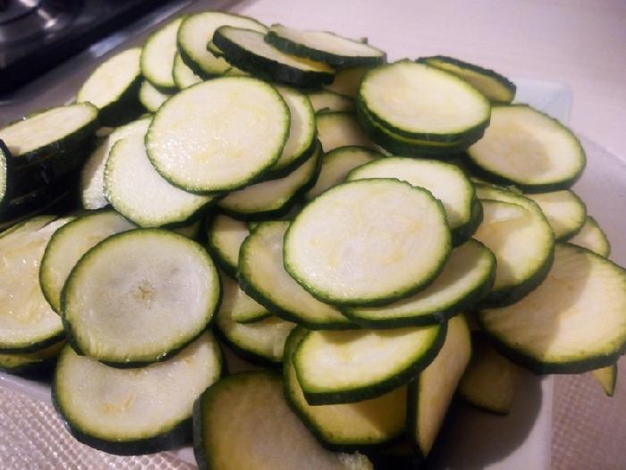 -Pennette con zucchine alla scapece