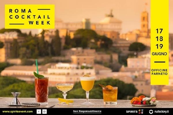 Dal 17 al 19 Giugno. Roma Cocktail Week terza Edizione