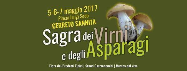Dal 5 al 7 Maggio 2017 -Sagra dei virni e asparagi a Cerreto Sannita