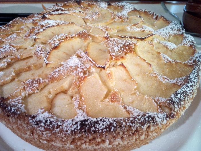 -Torta di mele paesana