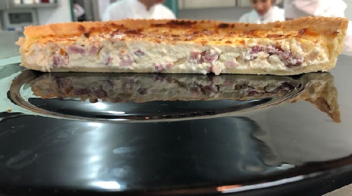 -Torta salata con salumi e ricotta