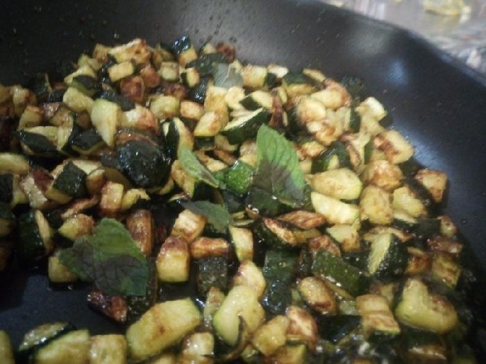 -Zucchine a funghetto