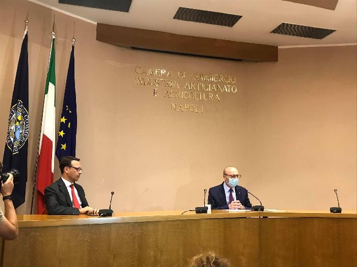 Emergenza Covid 19: al via i bandi per le misure  di sostegno della Camera di Commercio di Napoli a favore delle imprese.
