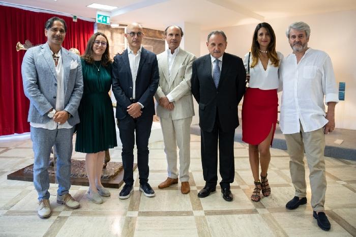 -gruppo inaugurazione mostra Dal�
