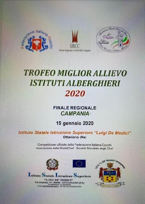 15/1 Campionati italiani FIC di Rimini per il migliore allievo degli istituti alberghieri d