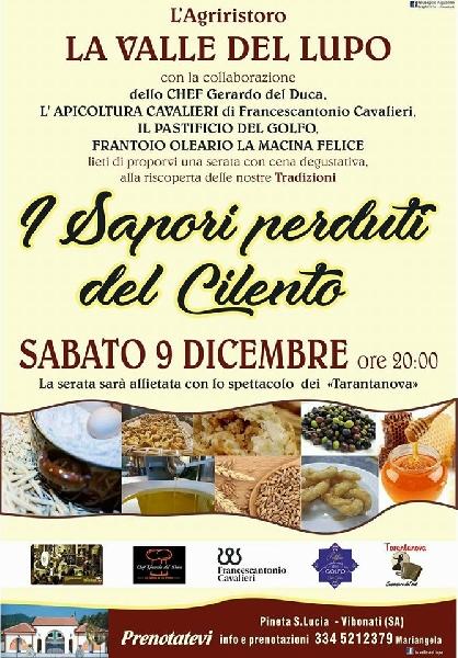 09/12 - Agriristoro La Valle del Lupo - Pineta S. Lucia - Vibonati (SA) - I Sapori perduti del Cilento