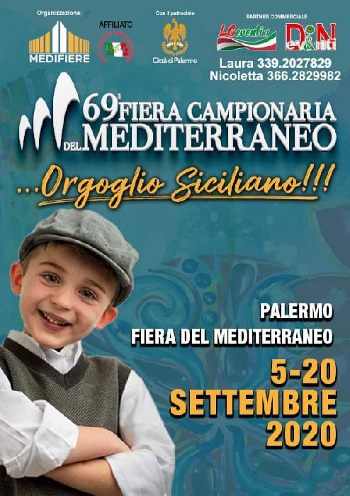 Dal 5 al 20 settembre - Fiera del Mediterraneo - Palermo - 69ª Fiera Campionaria del Mediterraneo