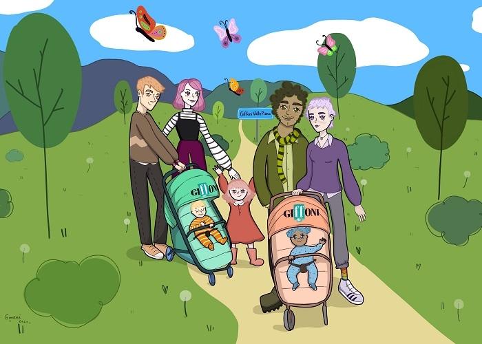 Alle coppie di Giffoni Valle Piana che nel corso del 2021 avranno un figlio, il festival donerà un passeggino