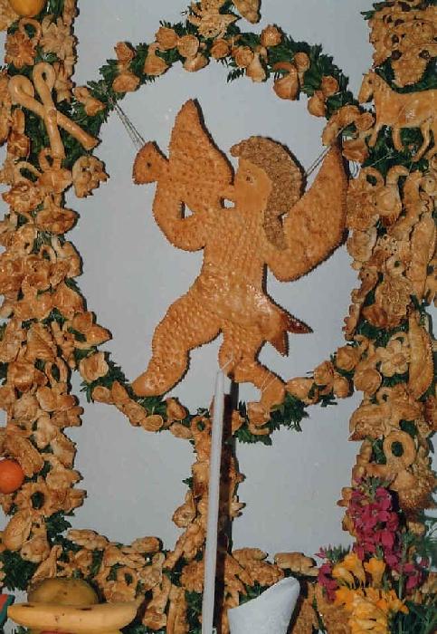 Altari di pane (particolare) per San Giuseppe a Salemi (TP)