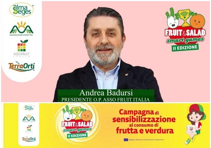 Andrea Badursi a Fruit and Salad Smart Games parla della fragola