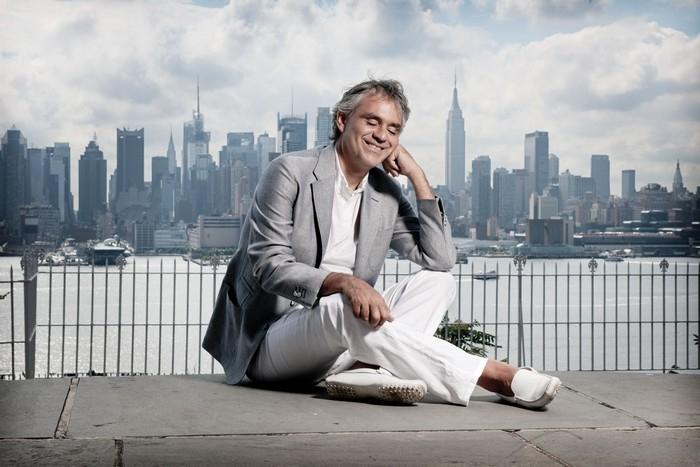 Andrea Bocelli - credit Giovanni de Sandre