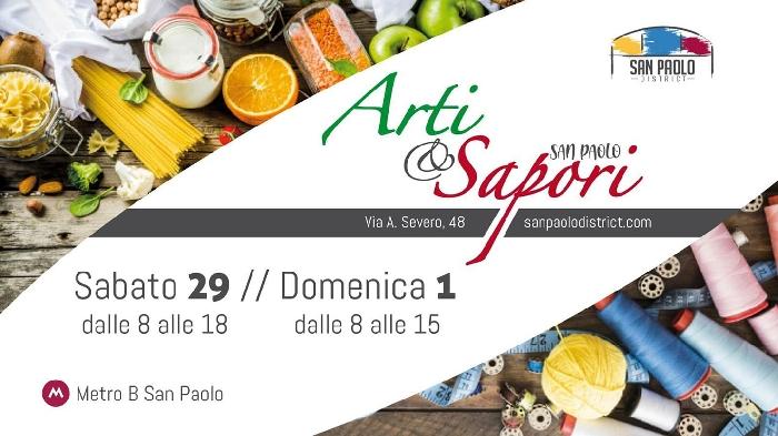29/02 e 01/03 - San Paolo - Roma - Arti e Sapori
